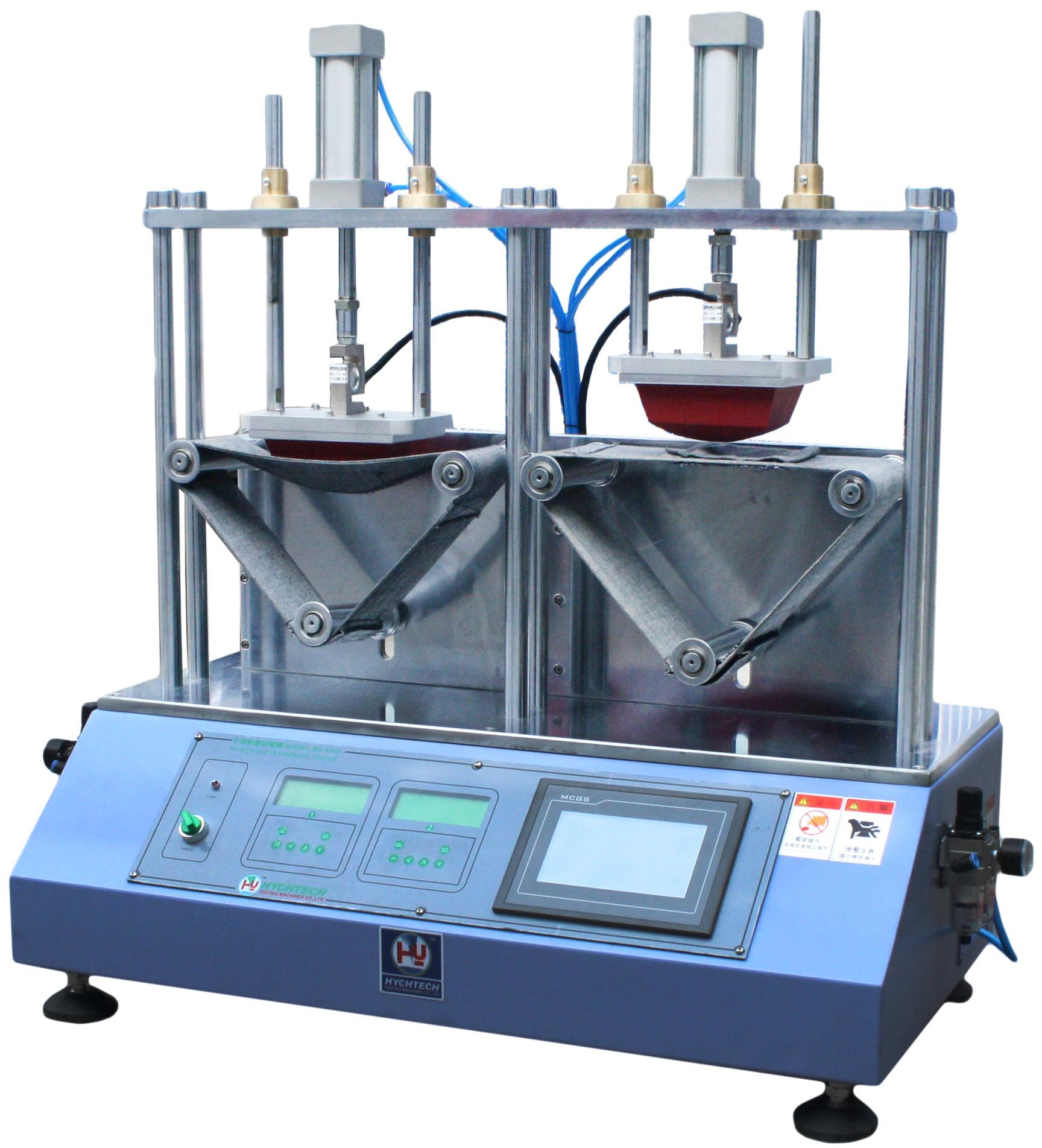 Soft Tensile Compressive Strength Testing Machine 2 Stations SMC Component