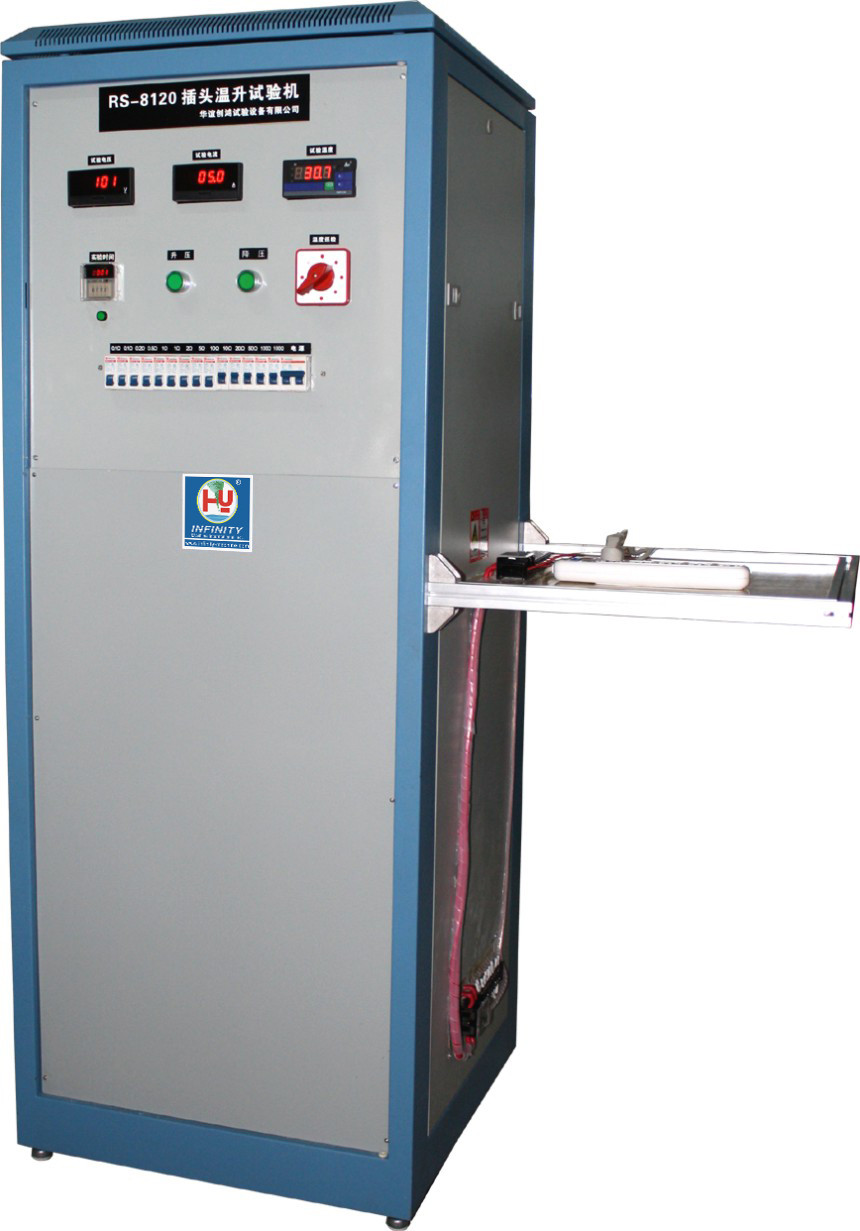 Cord Flexing Rotary Bending Fatigue Testing Machine Temperature Rising Test
